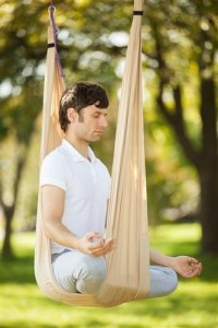 how did aerial yoga get started